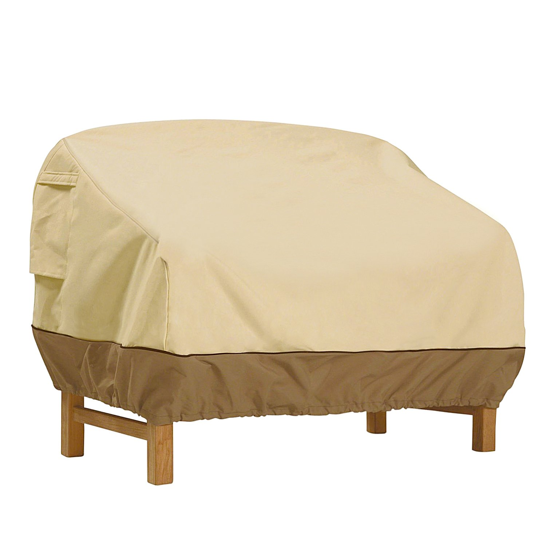 Vovoly Funda protectora para sofá Impermeable Para exterior Muebles de Jardín, Terraza, Patio