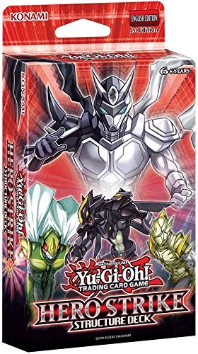 Yu-Gi-Oh HERO Strike Structure Deck [Sealed Deck] (Konami)