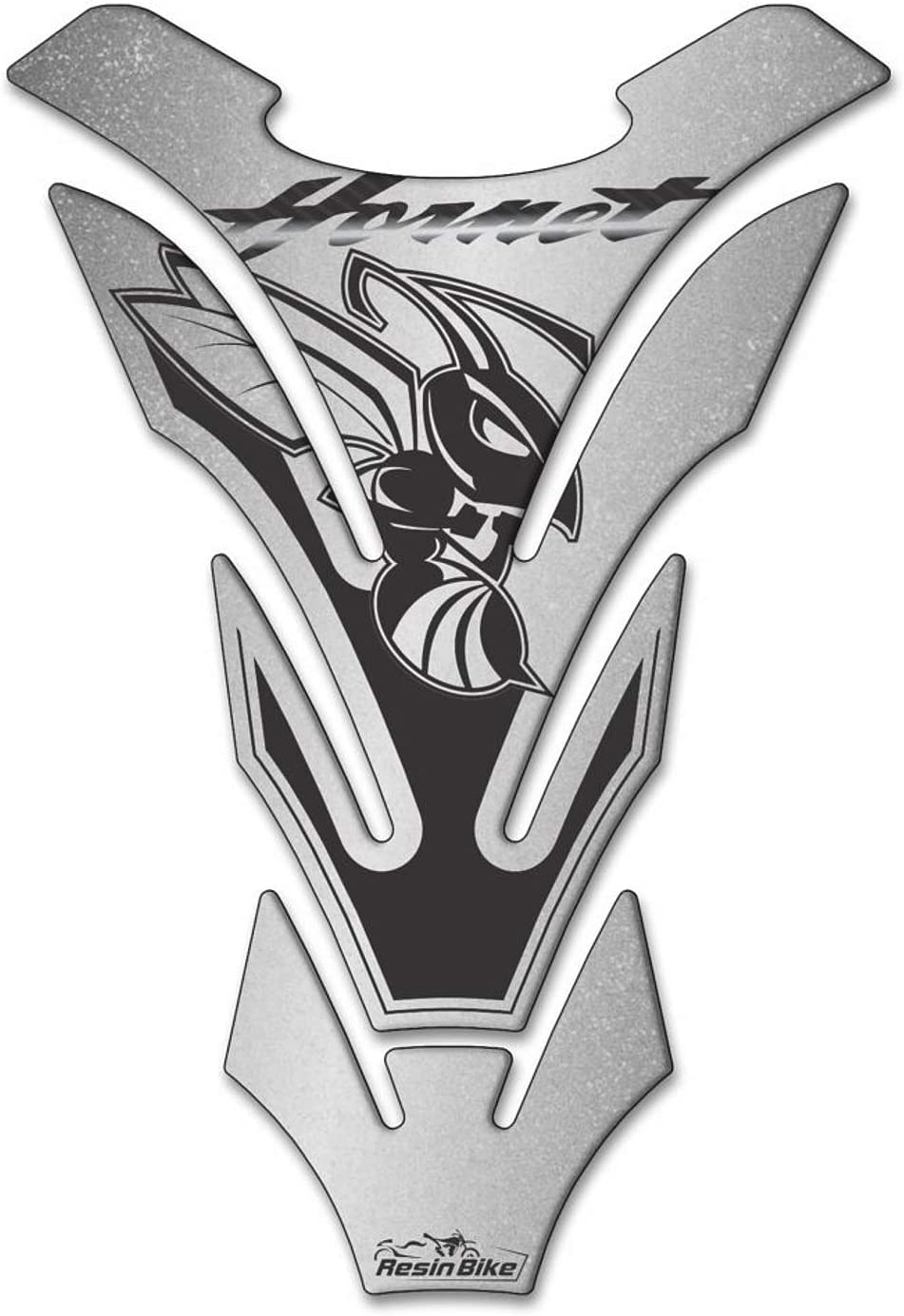 Paraserbatoio Universale Per Honda Hornet Argento Metallizzato