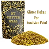 Gold 150G My Glitter Wall Glitter for emulsion paint glittery wall decorations perfect for indoors and outdoors
