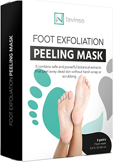 Amazon baby foot feet peel mask 2 pack peeling away baby foot feet peel mask 2 pack peeling away calluses and dead skin cells ccuart Gallery