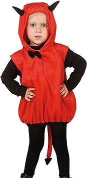 Amakando Traje Demonio Niño | Disfraz Infantil Diablo | Disfraz ...