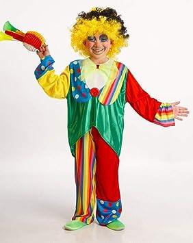 Disfraz de Payaso Niño Talla 3-5 Años: Amazon.es: Juguetes y juegos