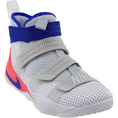 416dd5dbd7787 Nike Lebron Soldier Xi SFG Mens Hi Top Basketball Trainers 897646 ...