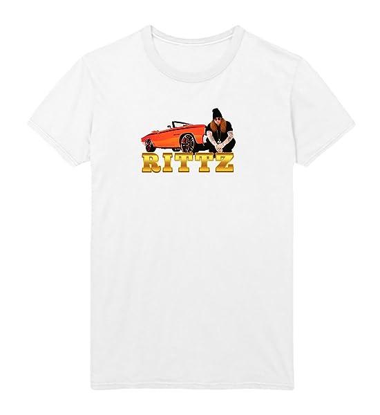 Rittz Golden Car Tshirt Christmas Tshirt T Shirt Tee