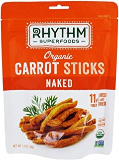 product image for RHYTHM SUPERFOODS Organic Naked Carrot Sticks, 1.4 OZ