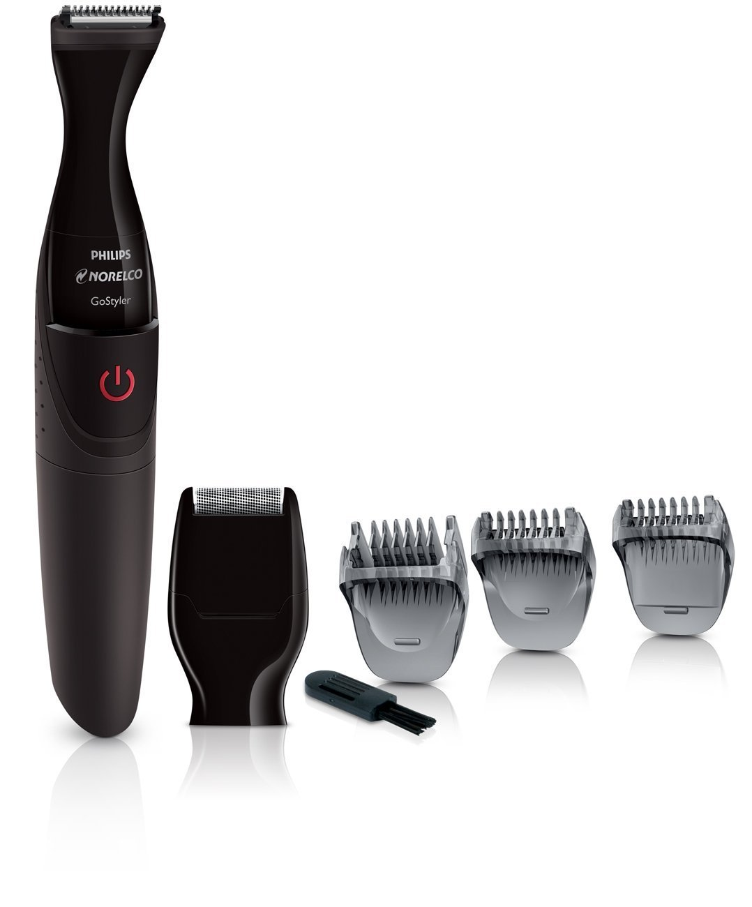 Norelco Waterproof Cordless Facial Men's Shaver and Hair Trimmer Grooming Kit, with Detail Foil Shaver, and Precision 21mm Trimmer, Three Beard Combs for All Your Facial Needs