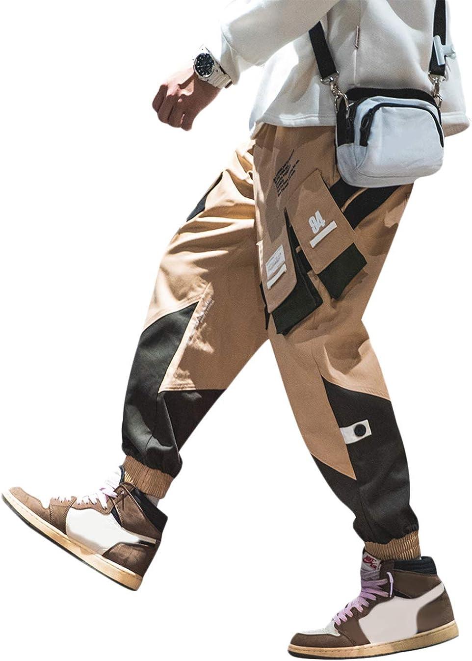 Irypulse Unisex Cargo Pantalones Combate Trousers Multi Bolsillos Flojo Tactico Ropa Calle Pants Para Hombres Mujeres Jovenes Otono Invierno Pantalones Ropa