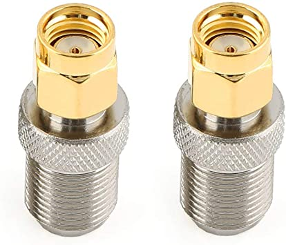 RP-SMA male to F type female antenna adapter connector for CLEAR HUB EXPRESS