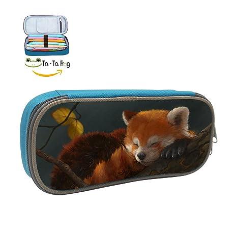Amazon.com: Personalizado Panda rojo – estuche gran ...