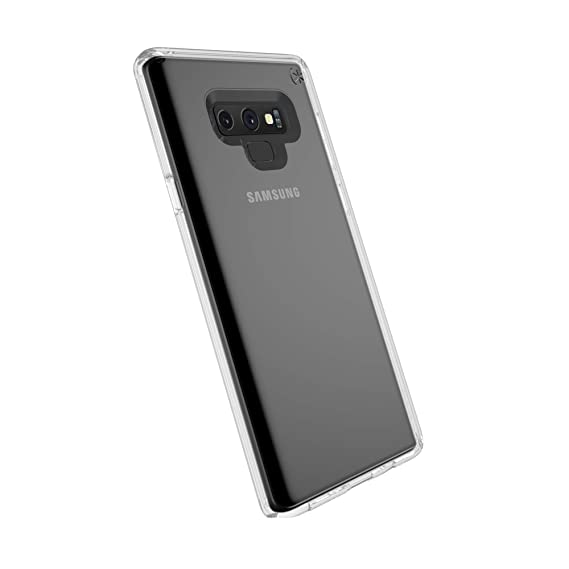 the best attitude 216e9 a77e6 Speck Products Compatible Phone Case for Samsung Galaxy Note 9, Presidio  Stay Clear Case, Clear