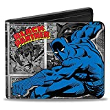 Men'sMarvel Comics Wallet Black Panther Action Pose/comic Block, -Multi, One Size
