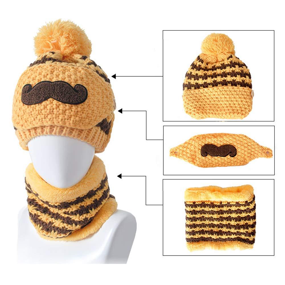 EffulxS - Juego de Bufandas de Punto para Mujer, Ideal para la Barba ...