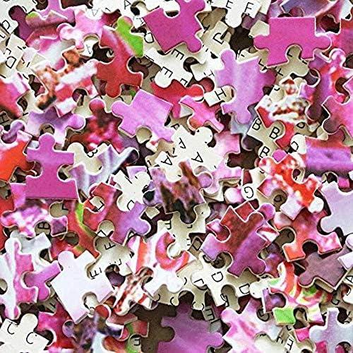 1000 stukjes houten puzzel voor volwassenen/kinderen, educatieve decompressie speelgoedpuzzel (Earth Wonderland), afwerking maat 75 * 50 52QbaKBQ