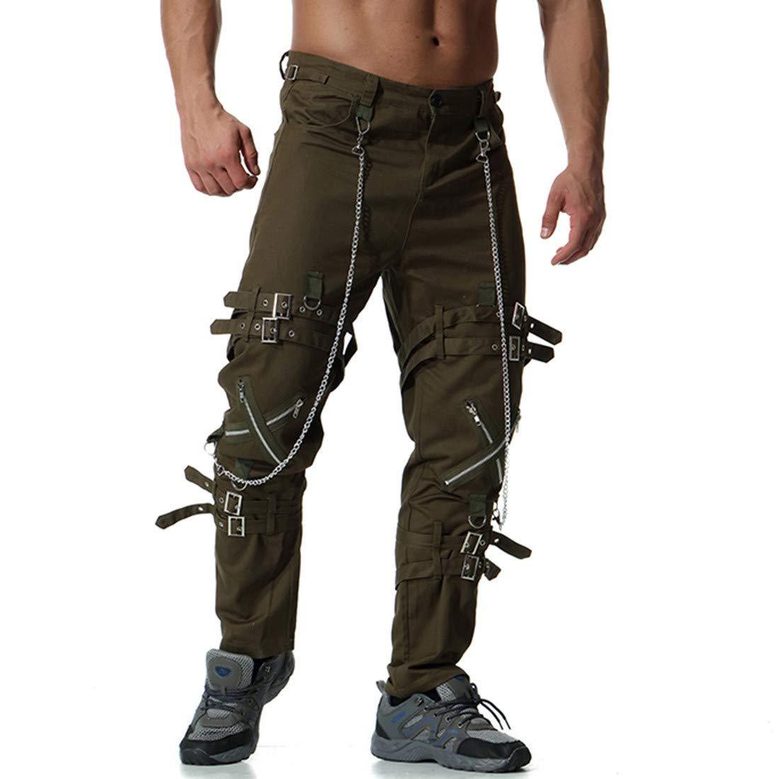 pantalones vaqueros hombre baratos,jeans ropa gótica hombre ...