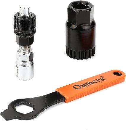 Fahrrad Reparierwerkzeug Tretlager und Kurbelabzieher Stahlreparatur Entferner