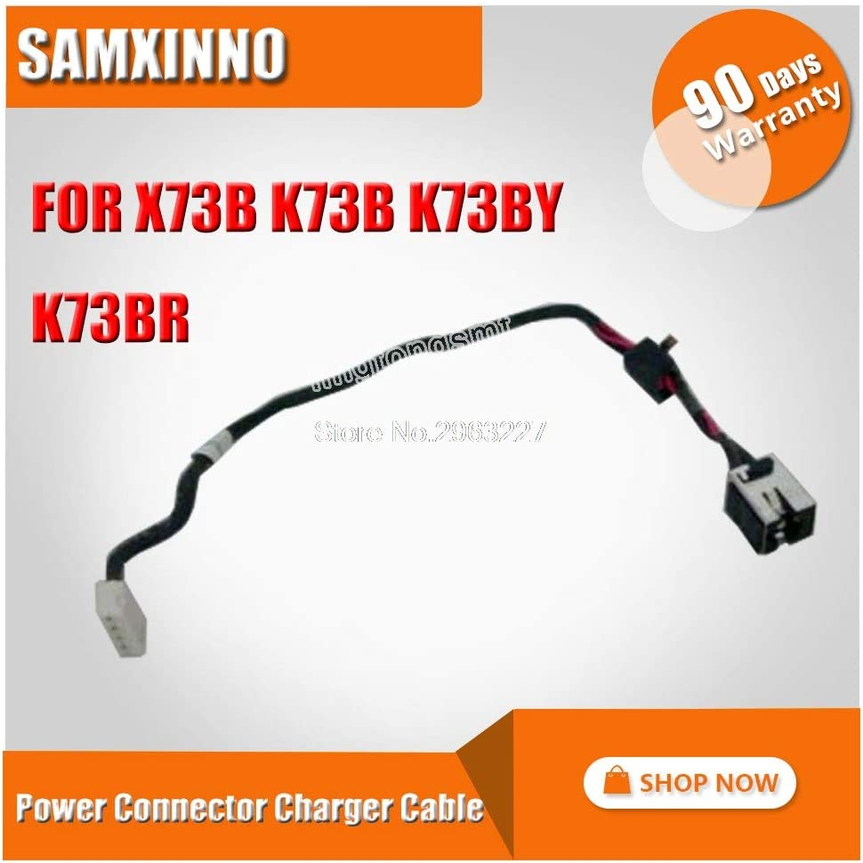 Cable Length: Length Computer Cables Original for ASUS X73B K73B K73BY K73BR Power Connector Charger Cable