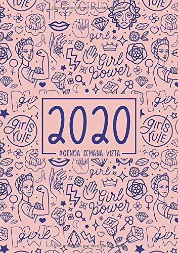 Agenda semana vista 2020: Del 1 de enero de 2020 al 31 de ...