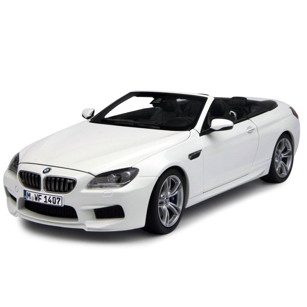 BMW M6 Cabrio (F12) - weiß - 1:18