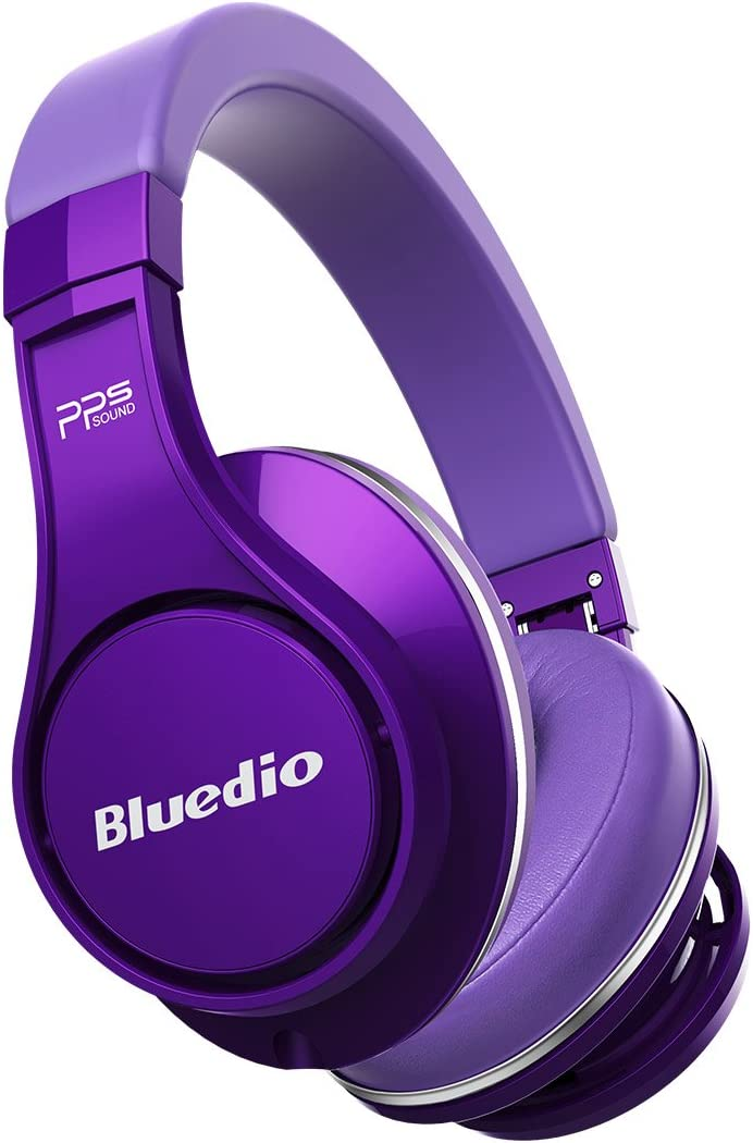 Bluedio Bluetooth Wireless Headphone Purple (Bluedio (UFO))