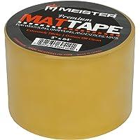 Meister Premium - Cinta adhesiva para tapetes de lucha, agarre y ejercicio – transparente