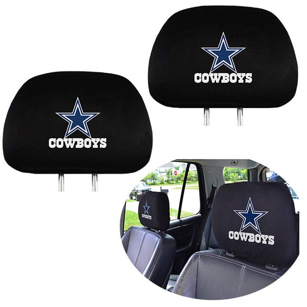 Set of 2 Car Truck SUV Van Headrest Covers for American NFL Dallas Cowboys 99 Carpro Dallas Cowboys Headrest Covers