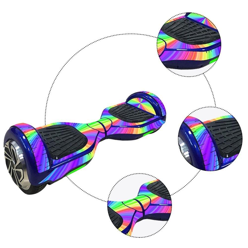 Amazon.com: Sienna Etiqueta engomada eléctrica de la Vespa de 6.5 pulgadas Etiqueta engomada del giroscopio de Hoverboard Etiqueta engomada de dos ruedas ...