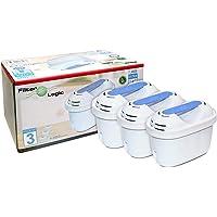 FilterLogic FL402E   Paquete de 3 - Cartucho filtrante compatible con Brita Maxtra+ Plus filtro agua para Jarra de agua…