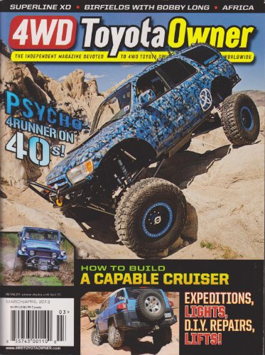 4WD Toyota Owner Magazine March/April 2013