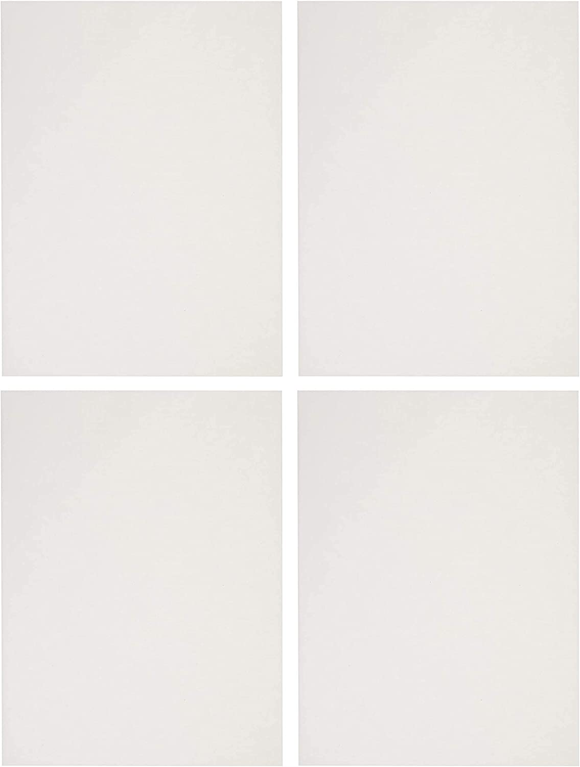 Extra-White 90 lb 9 x 12 Inches Sax Sulphite Drawing Paper Pack of 500