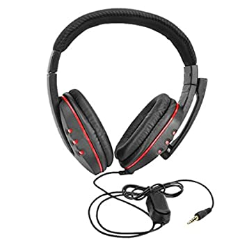 Amazon Com Rucan New Gaming Headset Voice Control Wired Hi Fi Sound