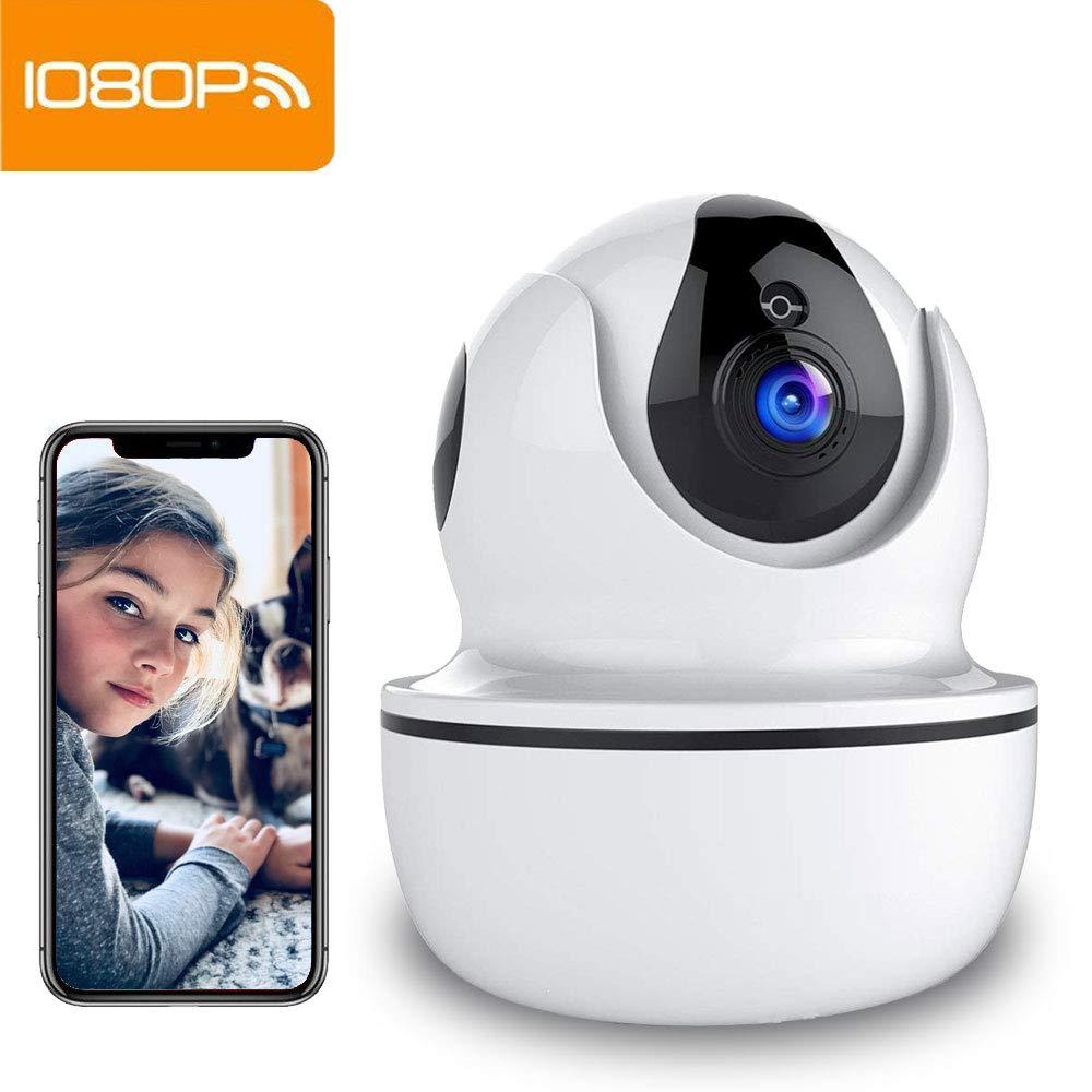 Camara Vigilancia Supereye 1080P Cámara IP, Cámaras de Vigilancia WiFi Interior FHD con Visión Nocturna, Detección de Movimiento, Audio de 2 Vías, ...