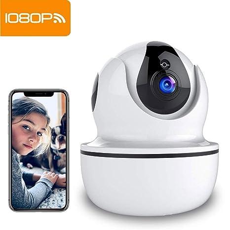 Camara Vigilancia Supereye 1080P Cámara IP, Cámaras de Vigilancia WiFi Interior FHD con Visión Nocturna