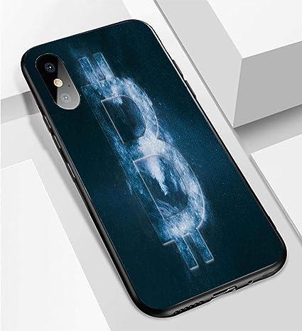 Iphone X Xs Ultradunne Handyhulle Bitcoin Zeichen Символ Биткоина -