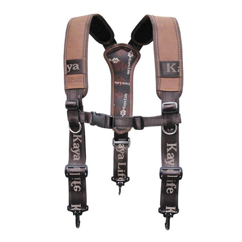 HW GLOBAL Electrician Maintenance Carpenter Technicians Work Organizer Framers Rig Multipurpose Chest Strap Tool Belt Suspenders #611