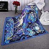 Scarfs for Women Unicorn Graffiti twill simulation silk satinLightweight Fashion Long Shawl Wraps 130130 cm/51.251.2 inches