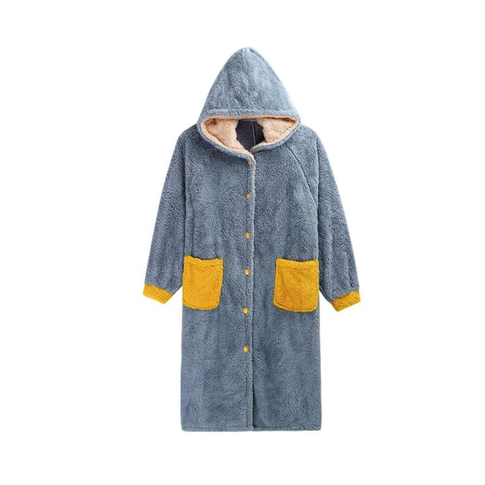 Albornoz Nan Liang Invierno Pijamas camisón Grueso hogar chándal ...