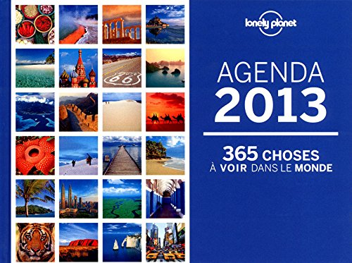 AGENDA LONELY PLANETE 2013 by (Hardcover)
