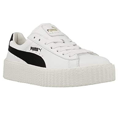 puma creeper schwarz weiß