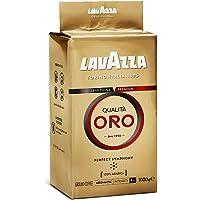 Lavazza Qualità Oro, 100% Arabica, Medium Roast Ground Coffee, Pack of 1kg