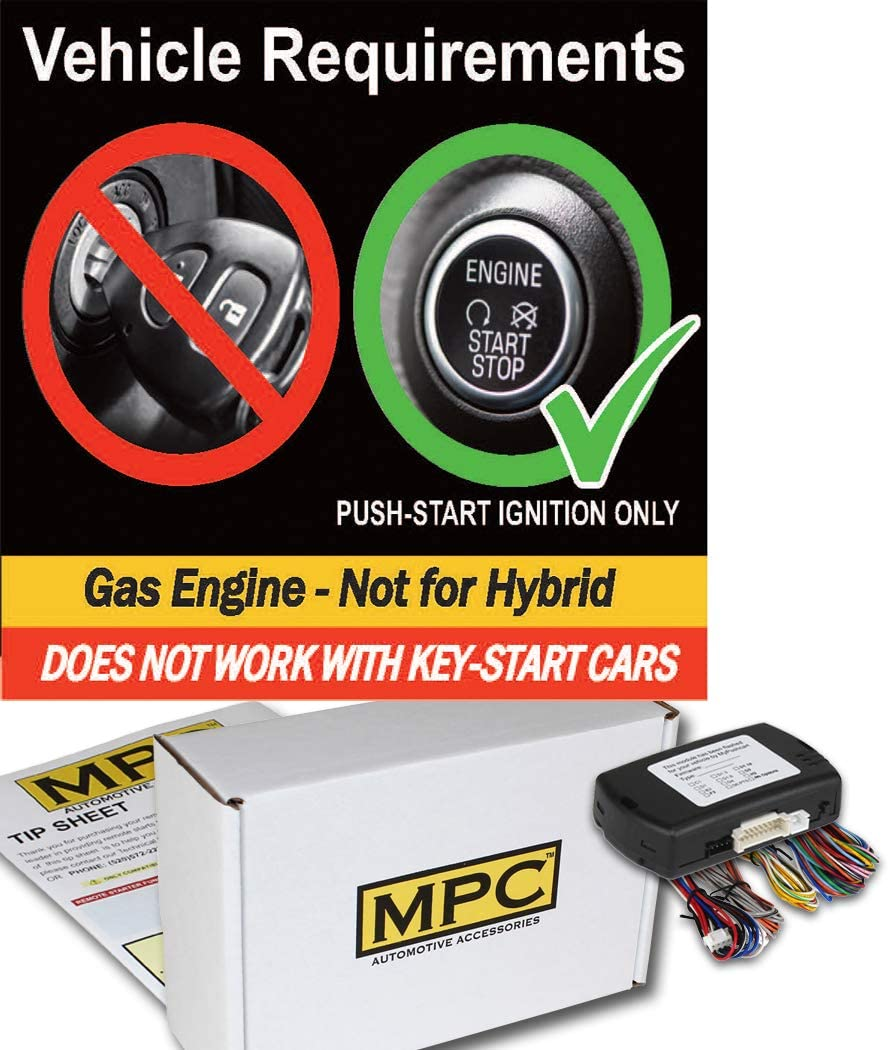 Firmware Preloaded MPC Complete Add-on Remote Start Kit for 2007-2014 Lexus LS460 Push-to-Start Uses Factory Remotes