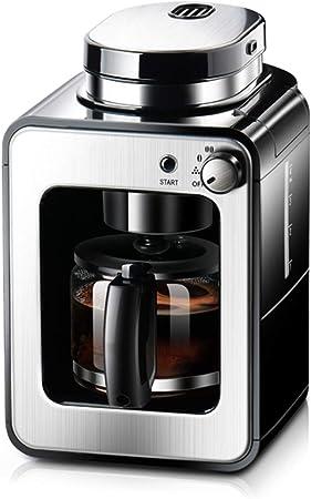 LTLWSH Cafetera con Molinillo, 2 en 1 Cafetera Automatica Molinillo Integrado, cafetera Goteo Función de Calentamiento Automático (580ml) 2-4 Tazas Cafetera de Filtro con Jarra de Vidrio, 600W: Amazon.es: Hogar