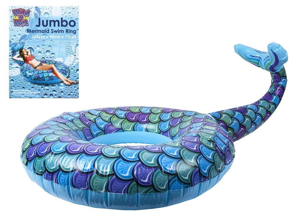 Brand Marke Jumbo Meerjungfrau Schwimmen Ring Pool Float