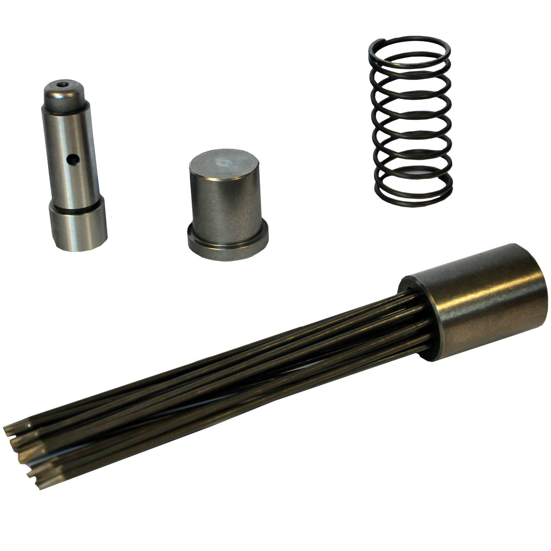 Heavy-Duty Professional Grade CS Unitec Needle Scaler Inline Grip with Vacuum Shroud - Pneumatic Power 2B