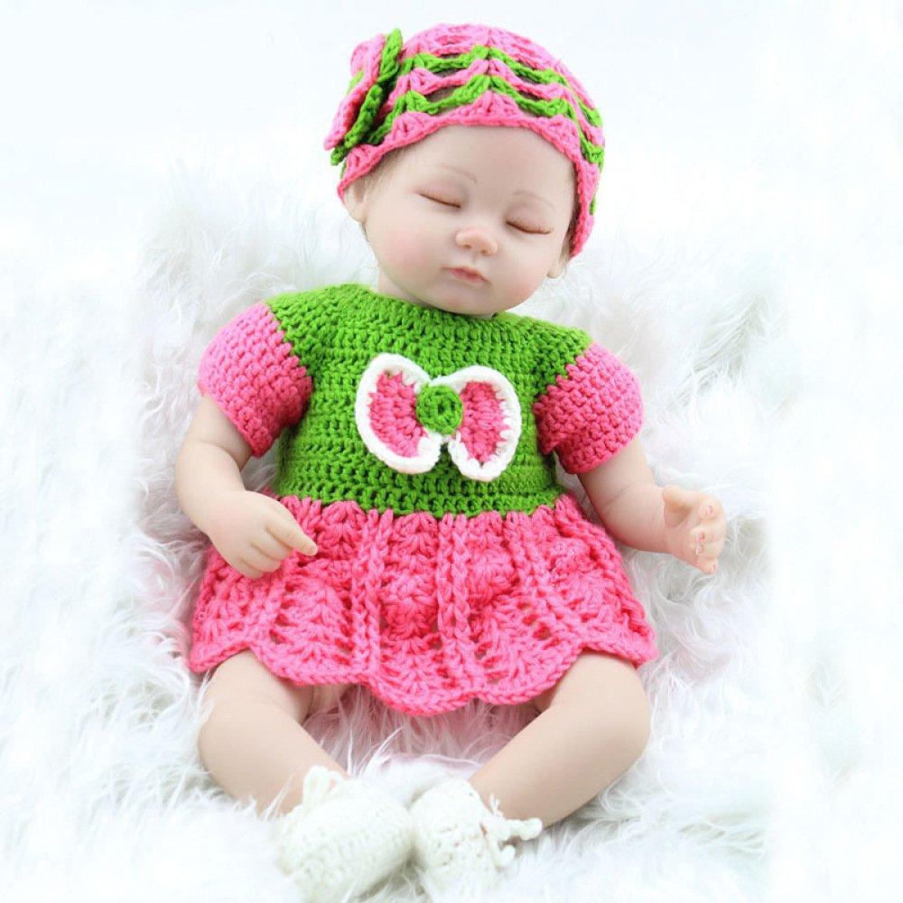 YAHAO Rebirth Soft Silikon Puppe Kinderspielzeug Geburtstagsgeschenk Jungen Und Mädchen Frühes Lernen Spielzeug