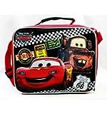 Lunch Bag - Disney - Cars Tires Black Boys School Case New a05360