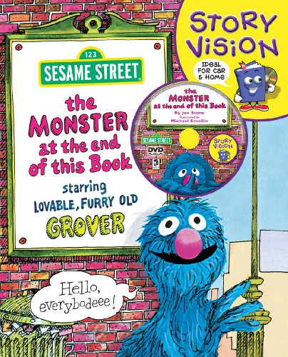 The Monster at the End of This Book: Sesame Street Story Vision by Hinkler books (Image #1)