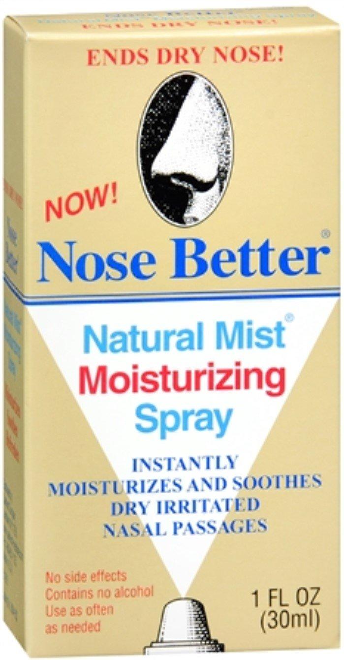 Nose Better Natural Mist Moisturizing Spray 1 oz (Pack of 2)