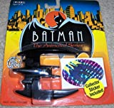 Batman Animated Series The Batplane collector sticker included