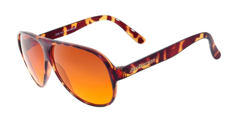 f6f000ea65 Amazon.com  Demi-Tortoise Original Aviator BluBlocker Sunglasses - 2725K   Clothing